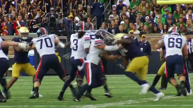 18th ranked Virginia falls to 10th ranked Notre Dame