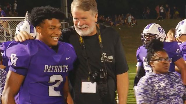 Patriots' Cook captures Week 5 honors