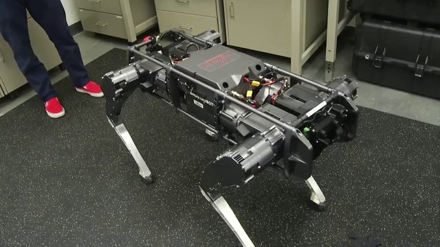 How Virginia Tech's pushup robot could one day help people with disabilities