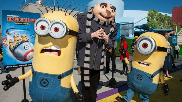 Universal actor dressed as Gru fired for making 'OK' hand gesture in…