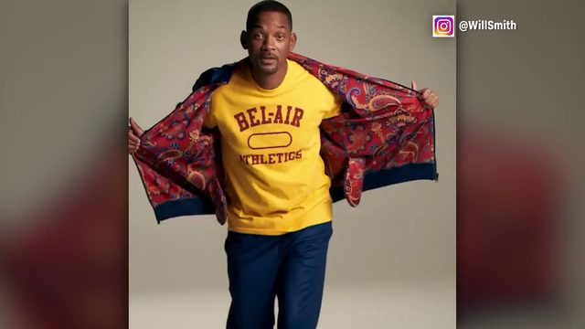 Will Smith launches clothing line inspired by Fresh Prince of Bel-Air