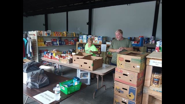 Food, clothing pantry helps more than 200 families in first days of opening