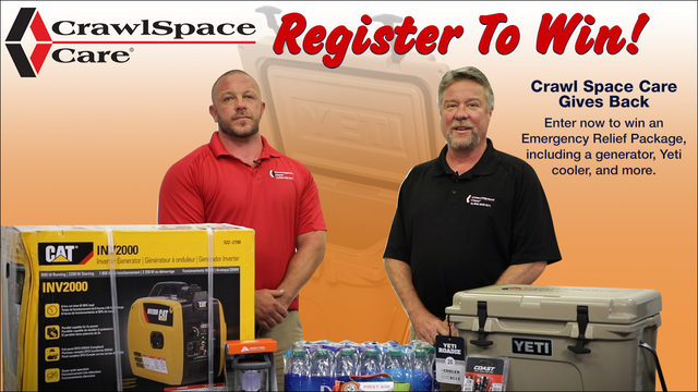 CrawlSpace Care Gives Back Contest