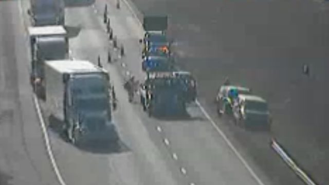 Car crash on I-81 north caused delays in Montgomery County