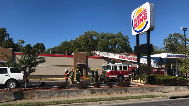 No one hurt in fire at Burger King in Salem