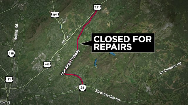 Portion of Blue Ridge Parkway closed indefinitely for repairs could reopen soon
