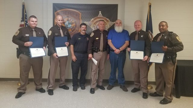 Amherst County deputies honored with lifesaving awards