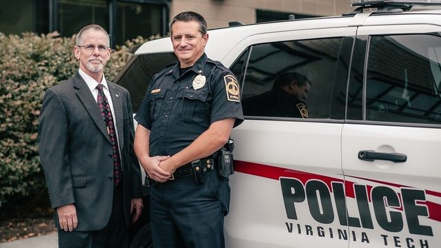 Virginia Tech officially welcomes Mac Babb, new police chief and…
