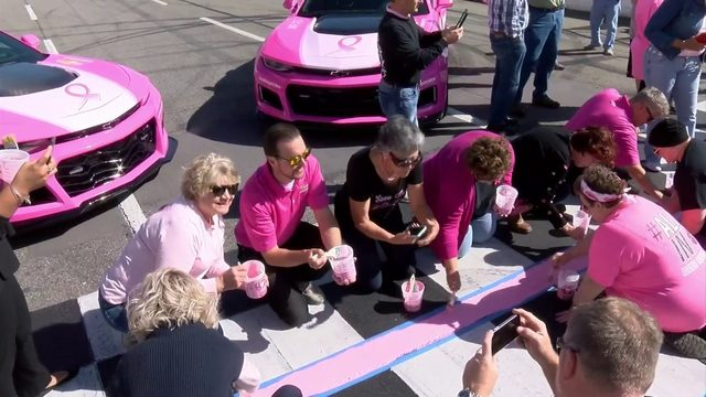 Martinsville Speedway goes pink for breast cancer awareness month
