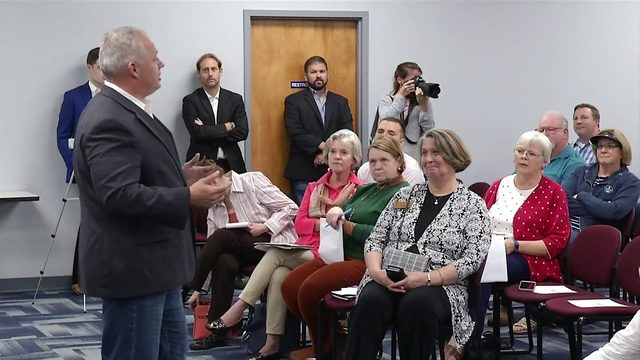 Congressmen Riggleman and Cline host town hall in Bedford