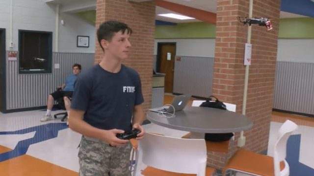 Bassett High School starts drone delivery project