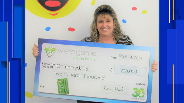 'Something told me to go...and get that ticket': Pulaski woman wins…