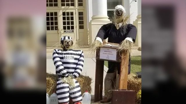 Removal of Rocky Mount scarecrow display creates controversy