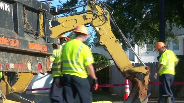 Detours in place due to water main break in Lynchburg