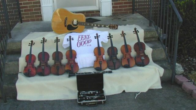 Feel Good Tour in Roanoke celebrates instruments given away to students, adults