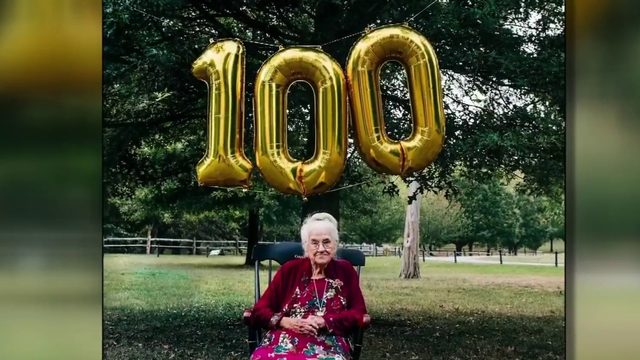 Radford woman turns 100 years old