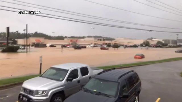 Roanoke Fire and EMS remembers flooding from Tropical Storm Michael one year ago