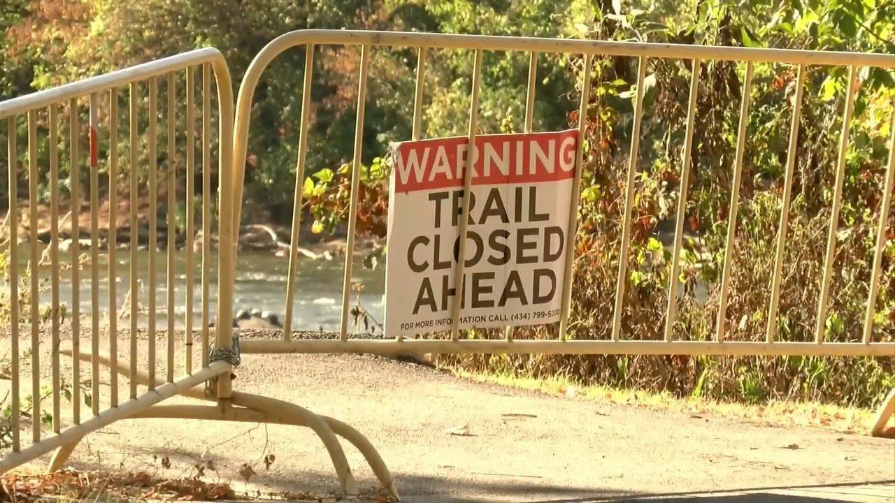 One year after Michael, Danville Riverwalk Trail still not fully repaierd