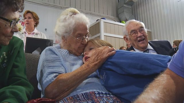 Radford woman celebrates 100th birthday in grand fashion