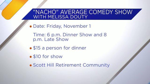 Comedian Melissa Douty