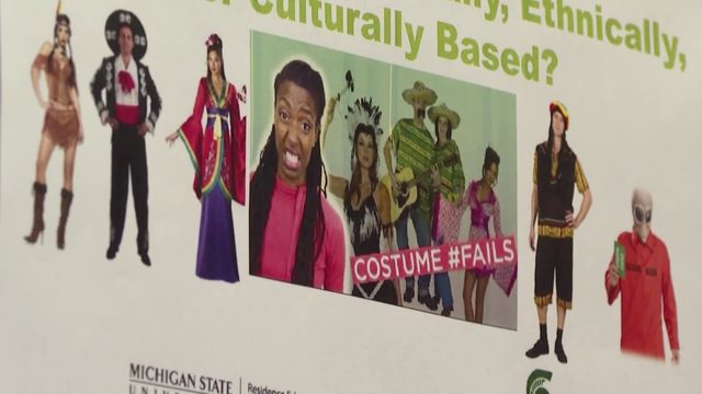 Michigan State University criticized for Halloween costume sensitivity fliers
