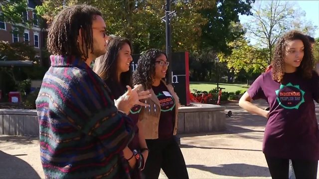 Native Americans honored, some call for end to Columbus Day at Virginia Tech