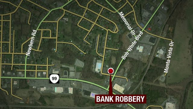 Police searching for man who robbed Pulaski BB&T