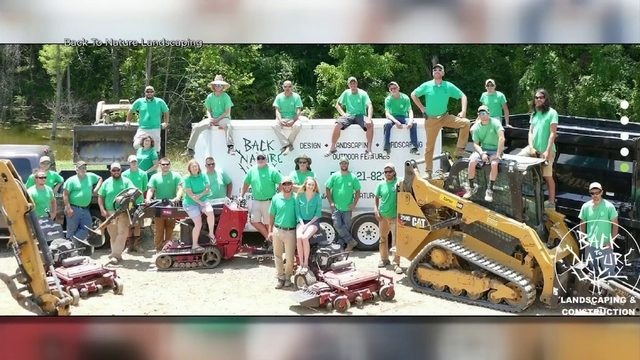 New River Valley landscaping company looking for someone in need of yard…