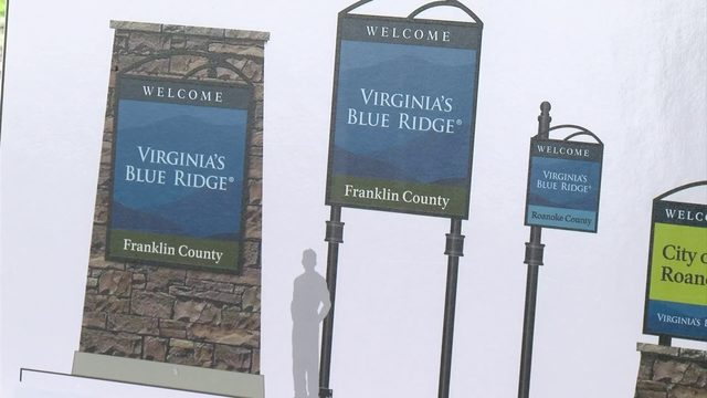 New signs will go up across Virginia's Blue Ridge to help visitors navigate