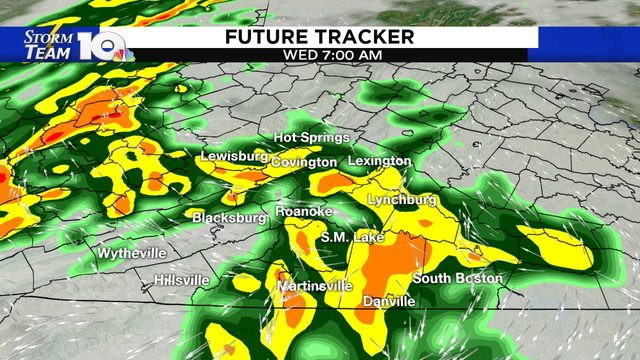 Much-needed rain, followed by strong wind gusts and colder air