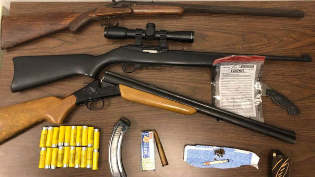 Pair charged after guns, drugs seized during Covington traffic stop