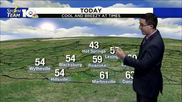 Chris' October 17, 2019 Noon Forecast