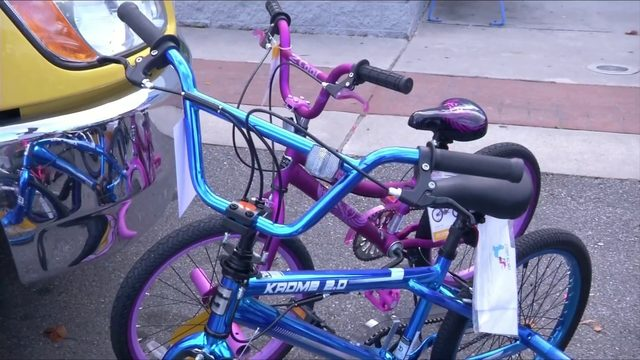 Local towing company donates 20 bikes to help students