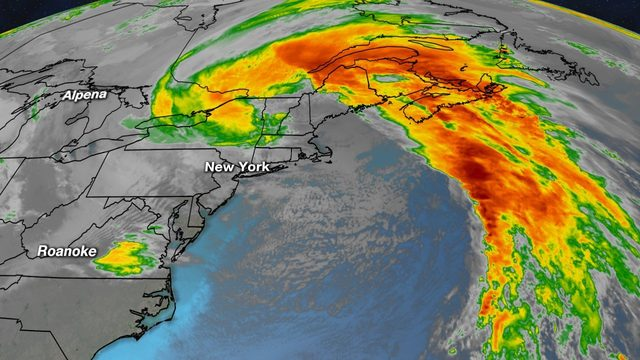 "Storm that gave us much needed rain becomes ""bomb cyclone"""