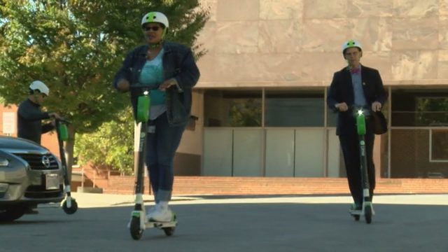 'I liked it a lot': E-scooters debut in Roanoke