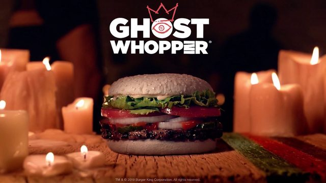 Burger King introduces 'The Ghost Whopper' at select restaurants