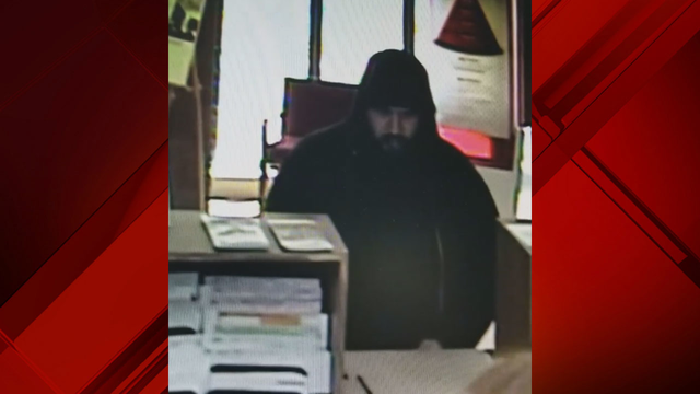 Pulaski authorities searching for man wanted for bank robbery
