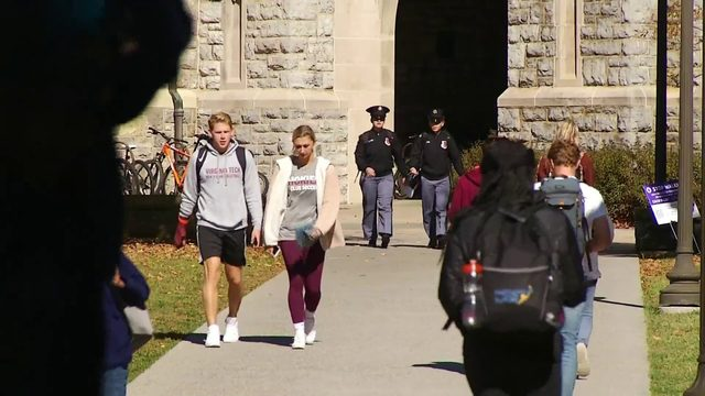 Virginia Tech police issuing safety tips after package thefts from…