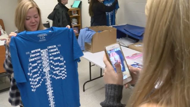 'Virtuali-tee' helping Botetourt County students learn about the body
