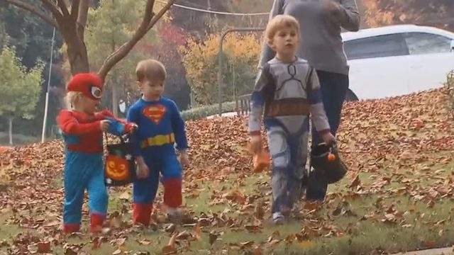 Trick-or-treating? Remember to keep your kids safe