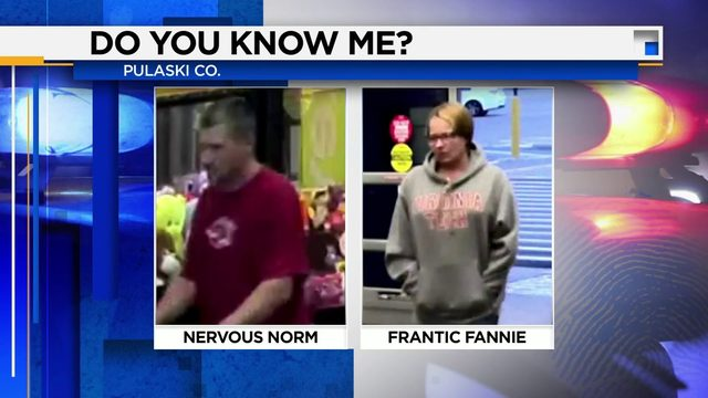 Pulaski County authorities search for alleged shoplifters