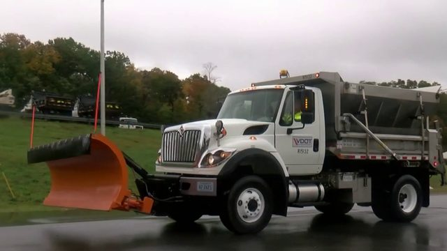 VDOT prepping for Mother Nature this winter