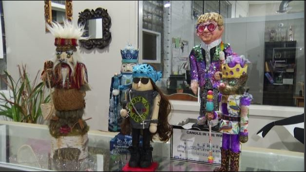 Local artists create unique nutcracker as fundraiser for Nutcracker at…