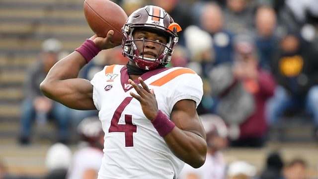 Virginia Tech and Notre Dame tied at halftime