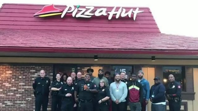 Danville PD shares dinner, discussion with Southside young men