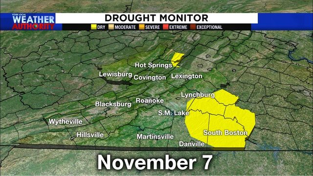 BREAKING: Drought 'officially' over in our part of Virginia