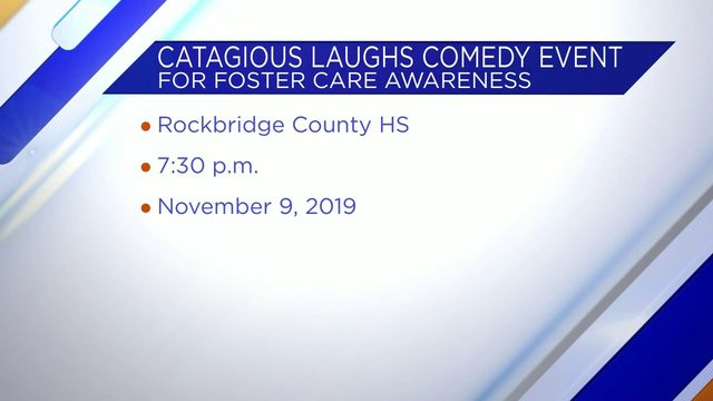 Catagious Laughs Comedy Event for Foster Care Awareness