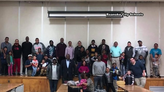 Roanoke City Schools wraps up inaugural father and male role model…