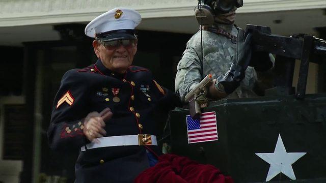 Virginia Veterans day parade