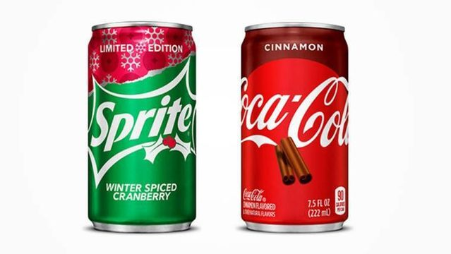 Coca-Cola gets in holiday spirit with two new flavors